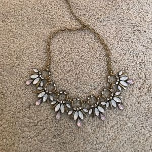 Piperlime bronze jeweled necklace