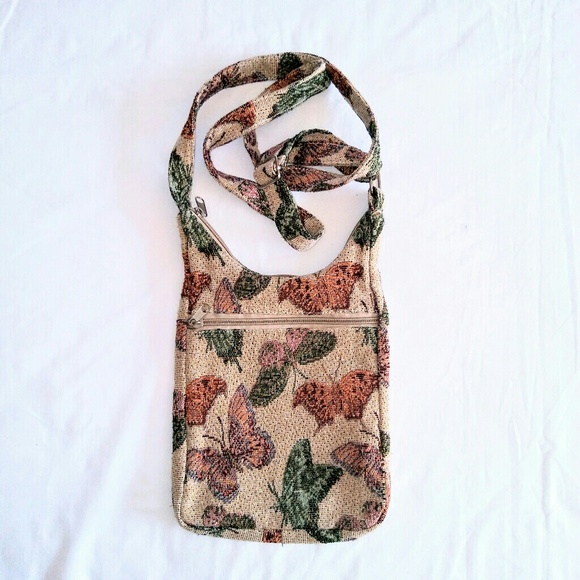Vintage Handbags - BUTTERFLY Crossbody Bag