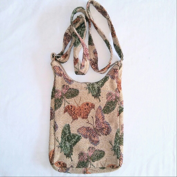 Vintage Bags - BUTTERFLY Crossbody Bag