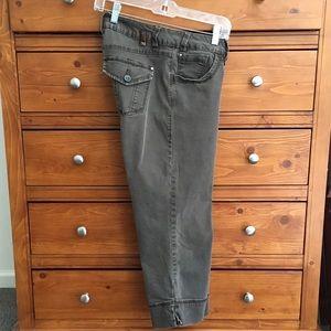 Jag Jeans Pants - JAG Brown Stretch Capri Pants sz 8