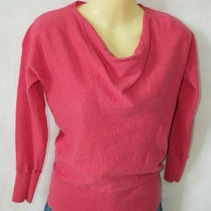 Talbots Tops - Talbots pure merino wool pink sweater
