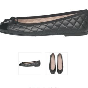 Pretty Ballerinas Shoes - Pretty Ballerinas Black Rosario flats size 9  40