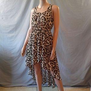 Sans Souci Dresses & Skirts - Leopard in High Low by Sans Souci