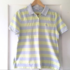 Brooks Brothers Tops - Brooks Brothers Pique Striped Polo