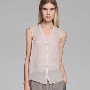 Helmut Lang Tops - ✨Wknd Sale✨Helmut Lang ghost silk sleeveless top