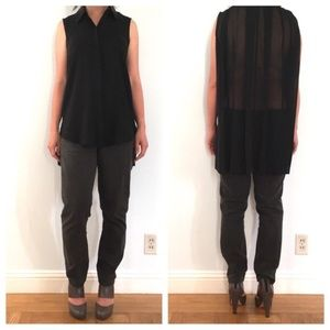 Kenneth Cole Tops - EUC Kenneth Cole back pleated blouse.