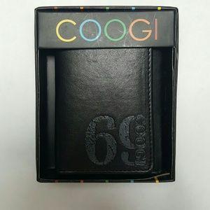 COOGI Other - Men's Black Leather COOGI Wallet NWOT