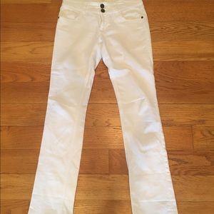 CAbi Pants - CAbi baby boot white Jean