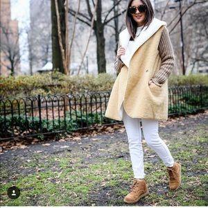 Jackets & Blazers - Faux shearling jacket