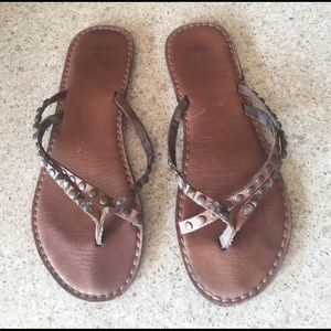 Abercrombie & Fitch Shoes - Womens Flip Flops Sandals Size 8