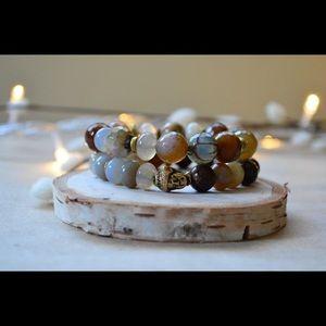 Jewelry - BIG BUDDAH jade bead bracelet + more!
