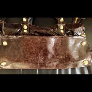 Balenciaga Bags - Balenciaga City Cafe Brown Handbag Chèvre leather