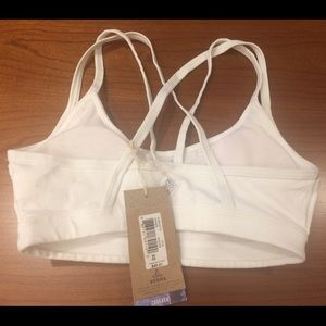 6fd67c11fb Prana Intimates   Sleepwear - Ethical New White Sports Bra