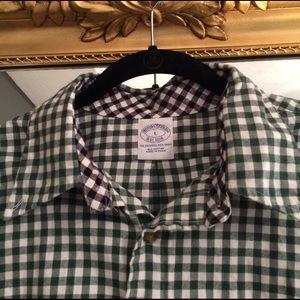 Brooks Brothers Other - EUC! Brooks Brothers Flannel slim sport shirt, L.