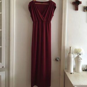 Talbots Dresses & Skirts - Talbot's long red dress