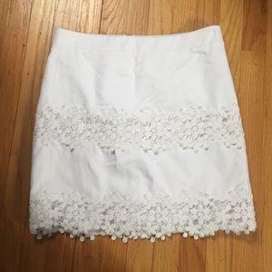 J. Crew Dresses & Skirts - [J. Crew] Scalloped Floral Lace Skirt 🐰