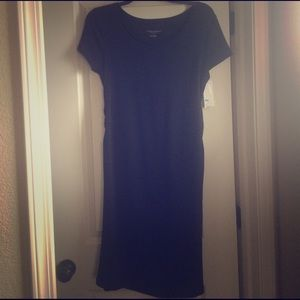 Liz Lange for Target Dresses & Skirts - Liz Lange Target Black Maternity Tee shirt Dress L