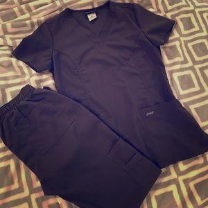 Sanibel Other - Grey scrub set