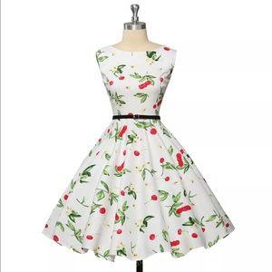 Dresses & Skirts - New beautiful red cherry dress 👗