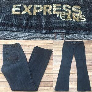 Express Denim - 🍂Sz 8 Express Stella Barely Boot Cut Denim Jeans