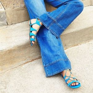 Free People / Schutz Erlina Lace Up sandals, 6