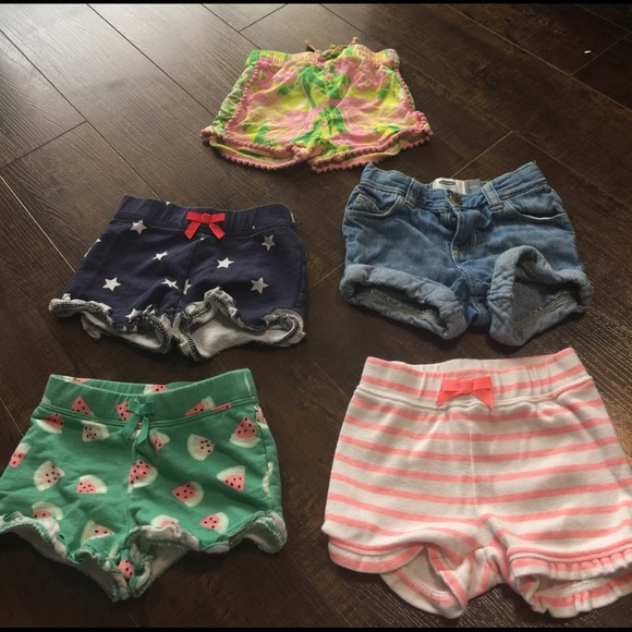 Lilly Pulitzer for Target Other - Lot of Little Girls Shorts