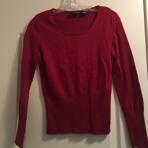 Hillard & Hanson Sweaters - Red Sweater