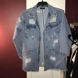 Missguided Jackets & Blazers - Missguided denim jean jacket. Size 4 worn once