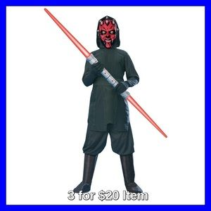 Star Wars Other - Official Star Wars Dark Mail Costume, Large 8-10