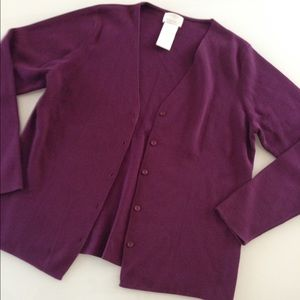 Purple cardigan Designers Originals
