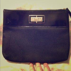 Celine Handbags - CELINE authentic clutch/makeup pouch
