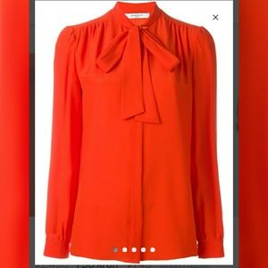 Givenchy Tops - Final price!!! Givenchy bow blouse@!!