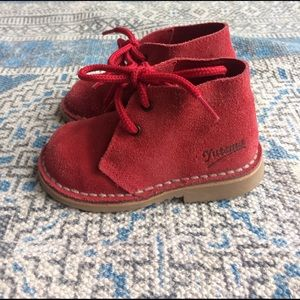 Cienta Other - Genuine Suede Toddler Ankle Boot