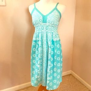 Pretty Blue Athleta Sun Dress