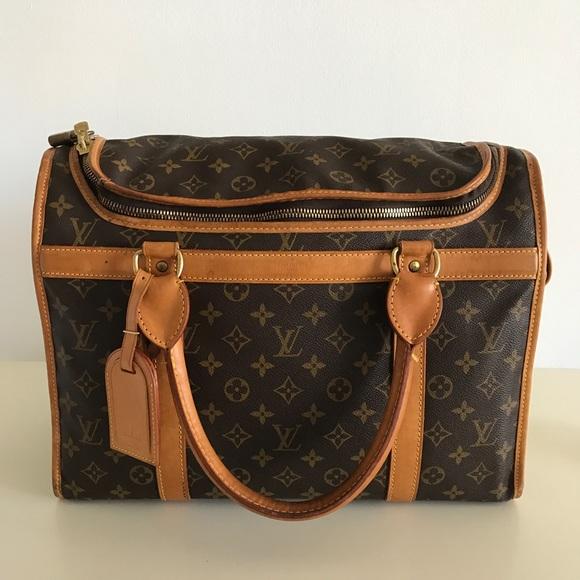 0248e90742ae Louis Vuitton Handbags - LOUIS VUITTON DOG CARRIER 40 MONOGRAM CANVAS