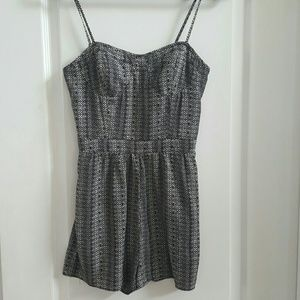 American Eagle Outfitters Cami Style Shorts Romper
