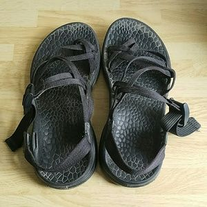Chaco Shoes - Black Chaco Sandals 7 Wide - Please Read!
