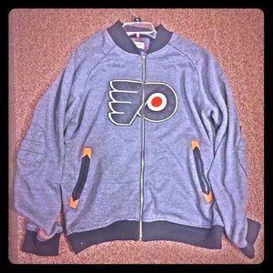Mitchell & Ness Other - 🏒Flyers Mitchell and Ness zip up hoodie🏒