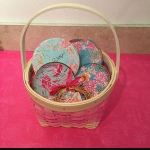 NWT Lilly ceramic coasters featured in Lolita