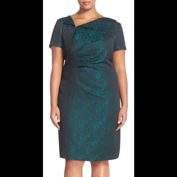 c54ae76c39aa Tahari Dresses   Emerald Green Holiday Christmas Dress   Poshmark
