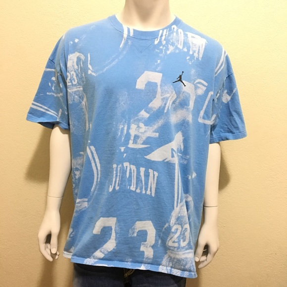 48a392a0802f8 Nike Air Jordan XXL Blue Spray Paint Graffiti 23