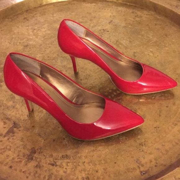 00f1ed06961 BCBG Paris gaminkha patent leather red heels 👠 9