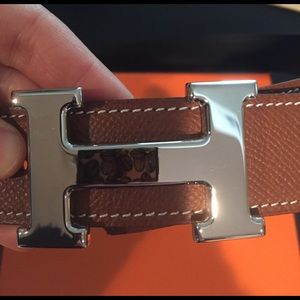 Brown Hermes Belt never worn!!!!! 38 inches