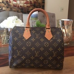 Louis Vuitton Handbags - AUTHENTIC LOUIS VUITTON SPEEDY 25