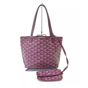 Goyard Handbags - Saint Laurent Goyard purple mini bag with pouch