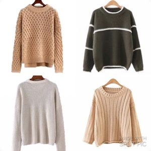 Goodnight Macaroon Sweaters - Goodnight Macaroon Sweaters (lot of 4)
