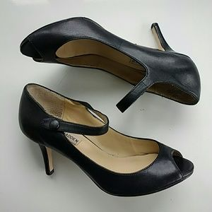 Steve Madden Black Heels Mary Janes Shoes Pumps