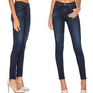 Madewell Pants - Madewell dark blue wash skinny jeans NWOT!