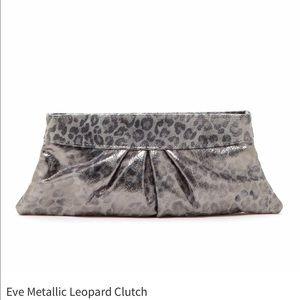 Lauren Merkin Handbags - 💥SALE!💥Lauren Merkin Eve Metallic Leopard Clutch