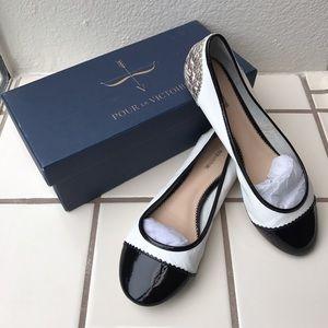 Pour la Victoire Shoes - Pour La Victoire. Pearl Flats. Size 9